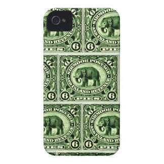 1895 Indian Princely States Elephant Case-Mate iPhone 4 Case