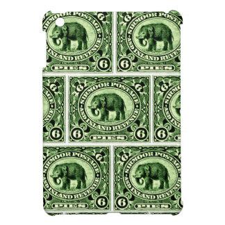 1895 Indian Princely States Elephant iPad Mini Cover