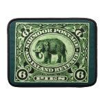 1895 Indian Princely States Elephant MacBook Sleeves