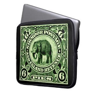 1895 Indian Princely States Elephant Laptop Sleeve