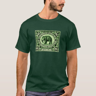 1895 Indian Princely States Elephant T-Shirt