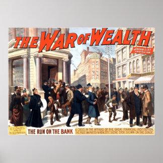 1895 - La guerra de la riqueza de C.T. Dazey Impresiones