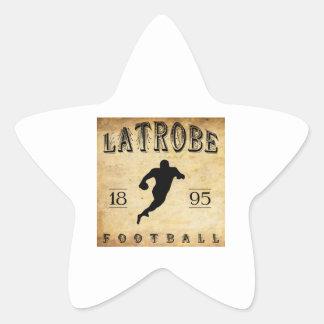 1895 Latrobe Pennsylvania Football Star Sticker
