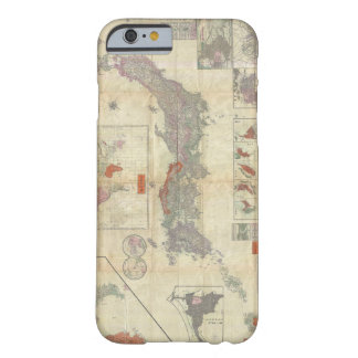 1895 Meiji 28 Japanese Map of Imperial Japan Barely There iPhone 6 Case