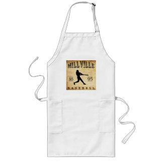 1895 Millville New Jersey Baseball Long Apron