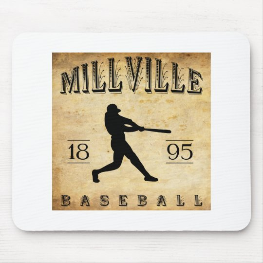 1895 Millville New Jersey Baseball Mouse Pad