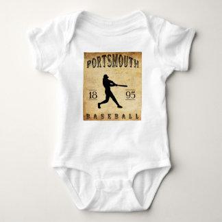 1895 Portsmouth Virginia Baseball Baby Bodysuit