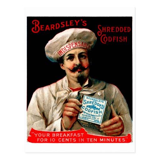 1895 Shredded Codfish Breakfast Post Card