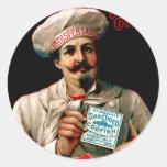 1895 Shredded Codfish Breakfast Stickers