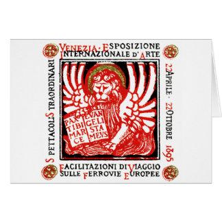 1895 Venice Art Poster Card