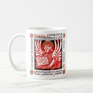 1895 Venice Art Poster Classic White Coffee Mug