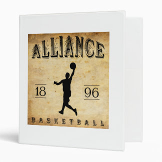 1896 Alliance Ohio Basketball Binder