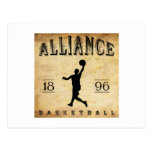 1896 Alliance Ohio Basketball Postcard