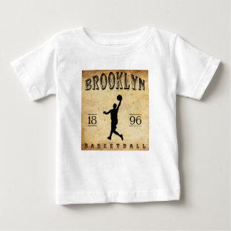1896 Brooklyn New York Basketball Baby T-Shirt