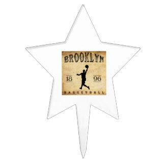 1896 Brooklyn New York Basketball Cake Toppers