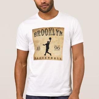 1896 Brooklyn New York Basketball T-Shirt