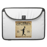 1896 Cincinnati Ohio Basketball MacBook Pro Sleeves
