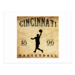 1896 Cincinnati Ohio Basketball Postcards