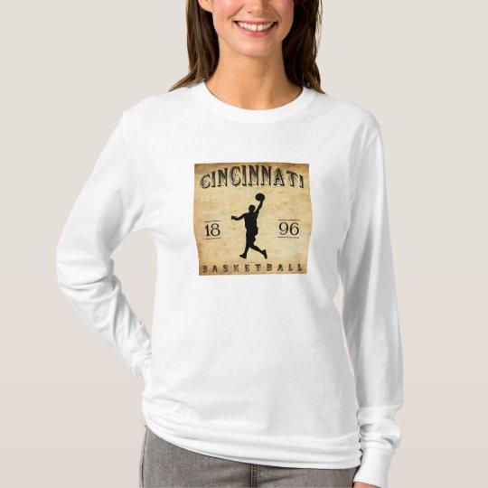 1896 Cincinnati Ohio Basketball T-Shirt