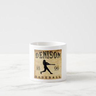 1896 Denison Texas Baseball Espresso Cup