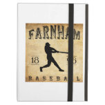 1896 Farnham Quebec Canada Baseball iPad Case