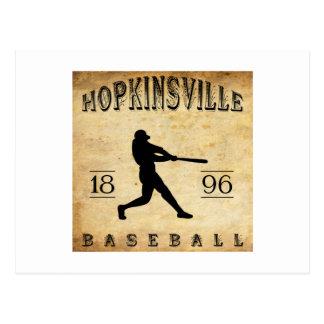 1896 Hopkinsville Kentucky Baseball Postcard