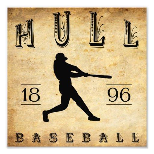 1896 Hull Massachusetts Baseball Photo