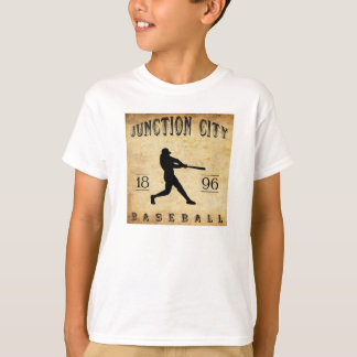 1896 Junction City Kansas Baseball T-Shirt
