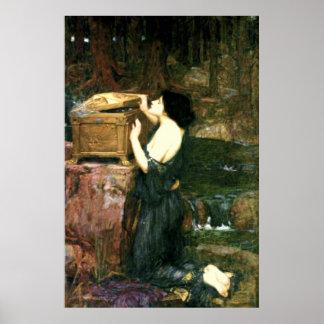 1896) lonas de bella arte del ~ de Pandora ( Impresiones