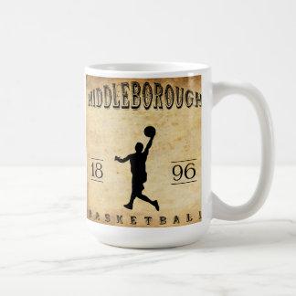 1896 Middleborough Massachusetts Basketball Coffee Mug