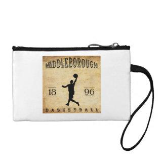 1896 Middleborough Massachusetts Basketball Coin Purse
