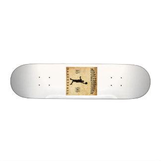 1896 Middleborough Massachusetts Basketball Custom Skateboard