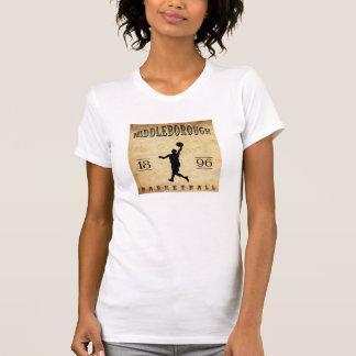 1896 Middleborough Massachusetts Basketball T Shirt