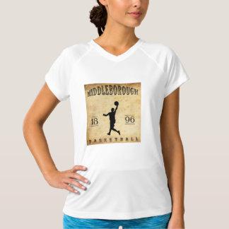 1896 Middleborough Massachusetts Basketball T-Shirt