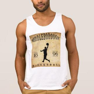 1896 Middleborough Massachusetts Basketball Tanktop