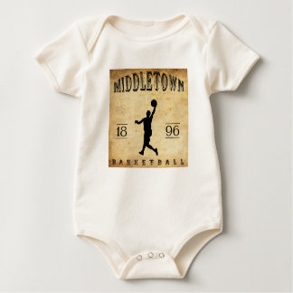 1896 Middletown Connecticut Basketball Baby Bodysuit