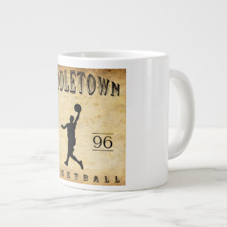 1896 Middletown Connecticut Basketball Giant Coffee Mug