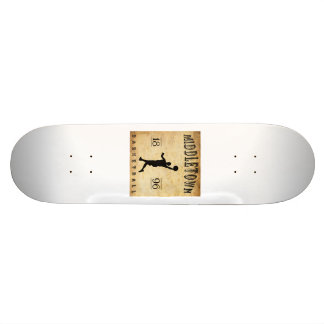 1896 Middletown Connecticut Basketball Skate Deck