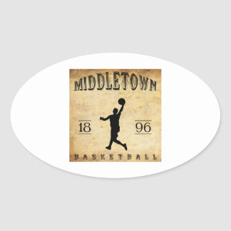 1896 Middletown Connecticut Basketball Stickers