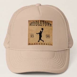 1896 Middletown Connecticut Basketball Trucker Hat