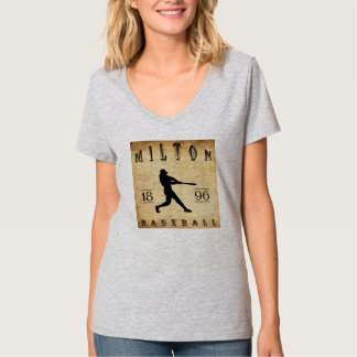 1896 Milton Pennsylvania Baseball Shirts