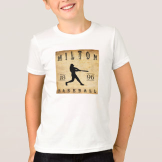 1896 Milton Pennsylvania Baseball T-Shirt