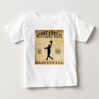 1896 Minneapolis Minnesota Basketball Baby T-Shirt