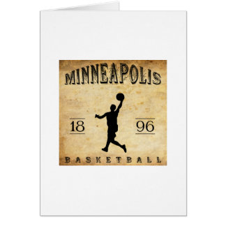 1896 Minneapolis Minnesota Basketball Card