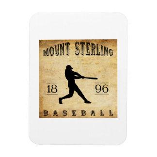 1896 Mount Sterling Kentucky Baseball Vinyl Magnets