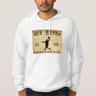 1896 New Haven Connecticut Basketball Hoodie