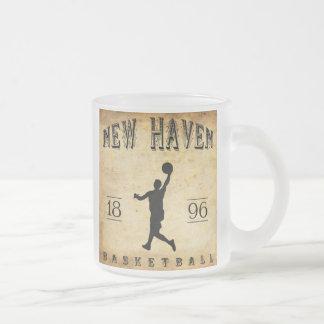 1896 New Haven Connecticut Basketball Coffee Mug