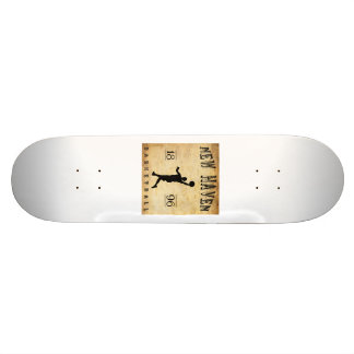 1896 New Haven Connecticut Basketball Skateboards
