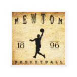 1896 Newton Massachusetts Basketball Gallery Wrapped Canvas