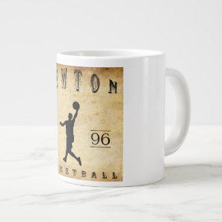 1896 Newton Massachusetts Basketball Large Coffee Mug